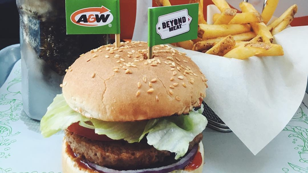 A&W's Vegan Beyond Burger May Be Coming to U.S. Locations