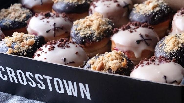 London's Crosstown Doughnuts Opens 3rd Vegan Location