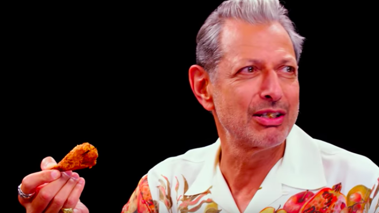 Jeff Goldblum Is Now 'The Daddy' of Vegan Hot Wings