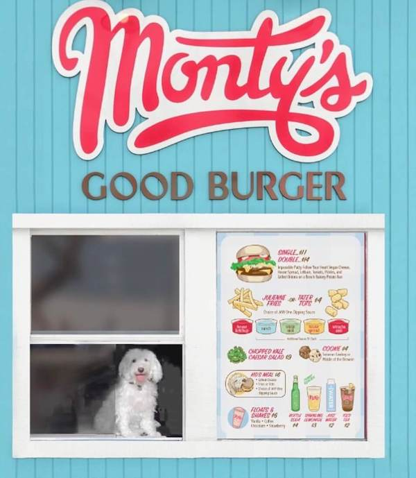 Monty's Good Burger In-N-Out Style Vegan Fast Food Concept Opens in Los Angeles