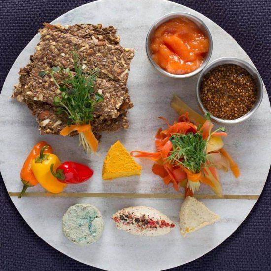 plant miami nut cheese board