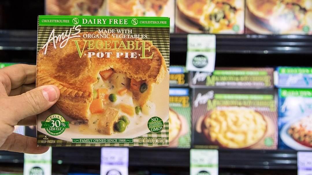 vegan frozen meals