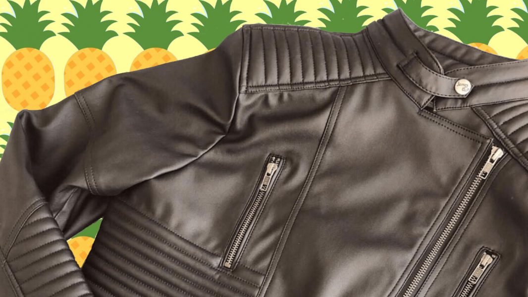 pineapple leather