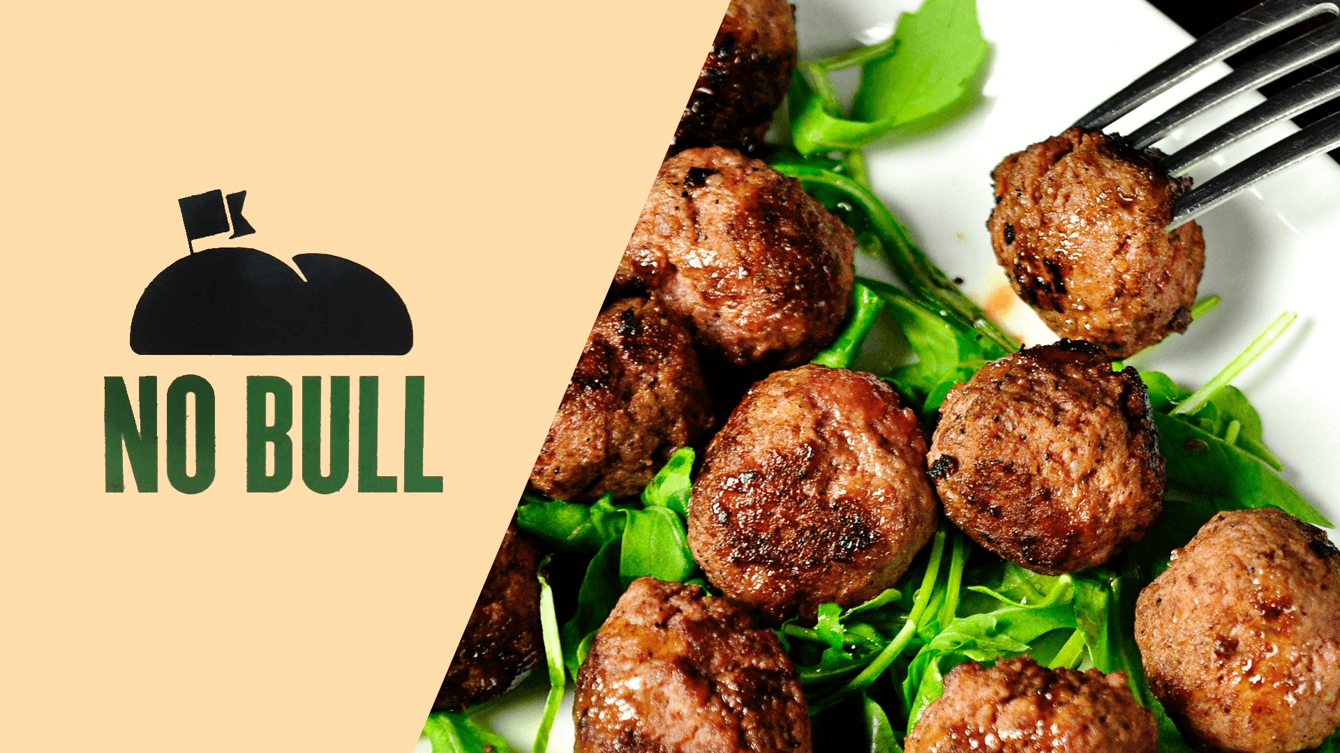 Iceland Supermarket Expands Vegan 'No Bull' Burger Range With Plant-Based Meatballs and Chilli