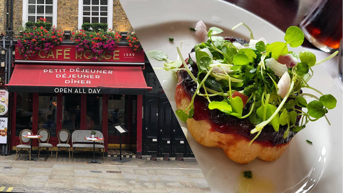 Café Rouge Adds Vegan French Menu to All UK Locations