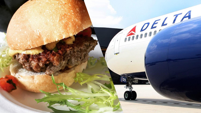Vegan 'Bleeding' Impossible Burgers Arrive at JFK Airport's Delta Sky Club