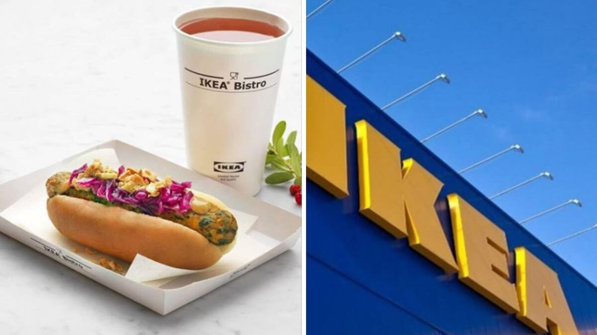 ikea cegan hot dog