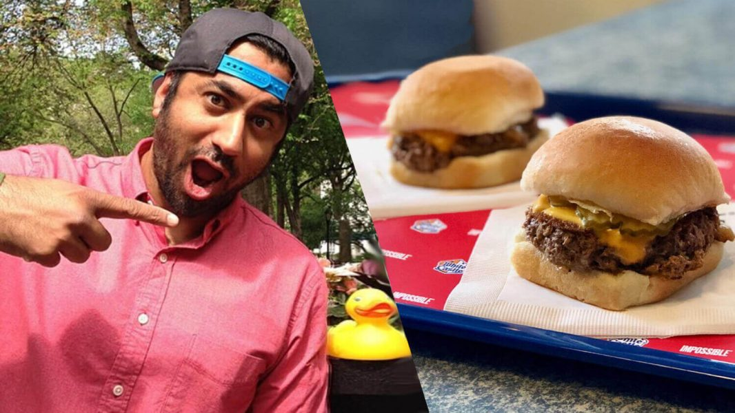 'Harold and Kumar' Actor Kal Penn Invests in White Castle's Vegan Impossible Burger
