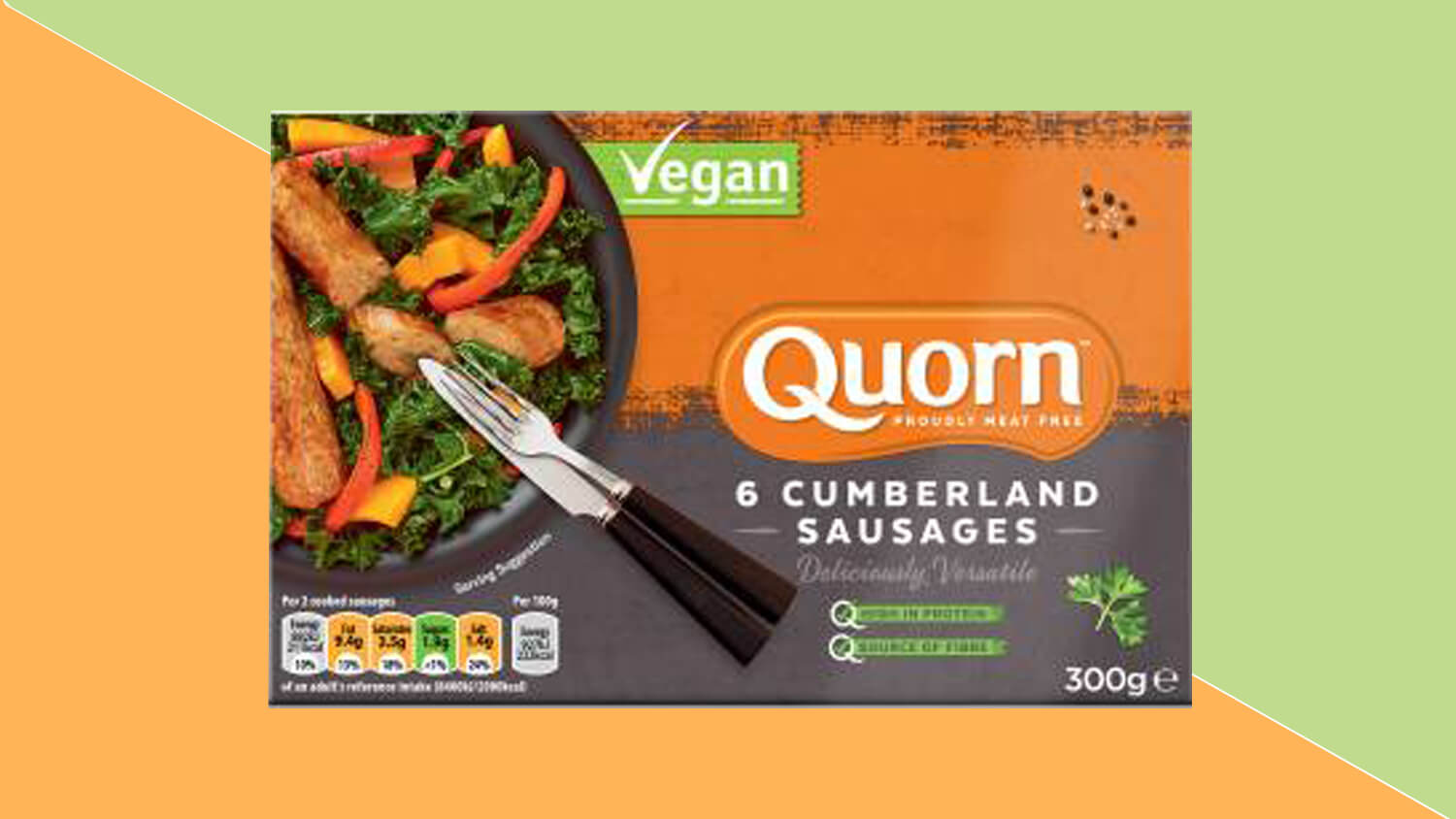 Asda Customers Vote Quorn's Vegan Cumberland Sausages As Most Innovative Product