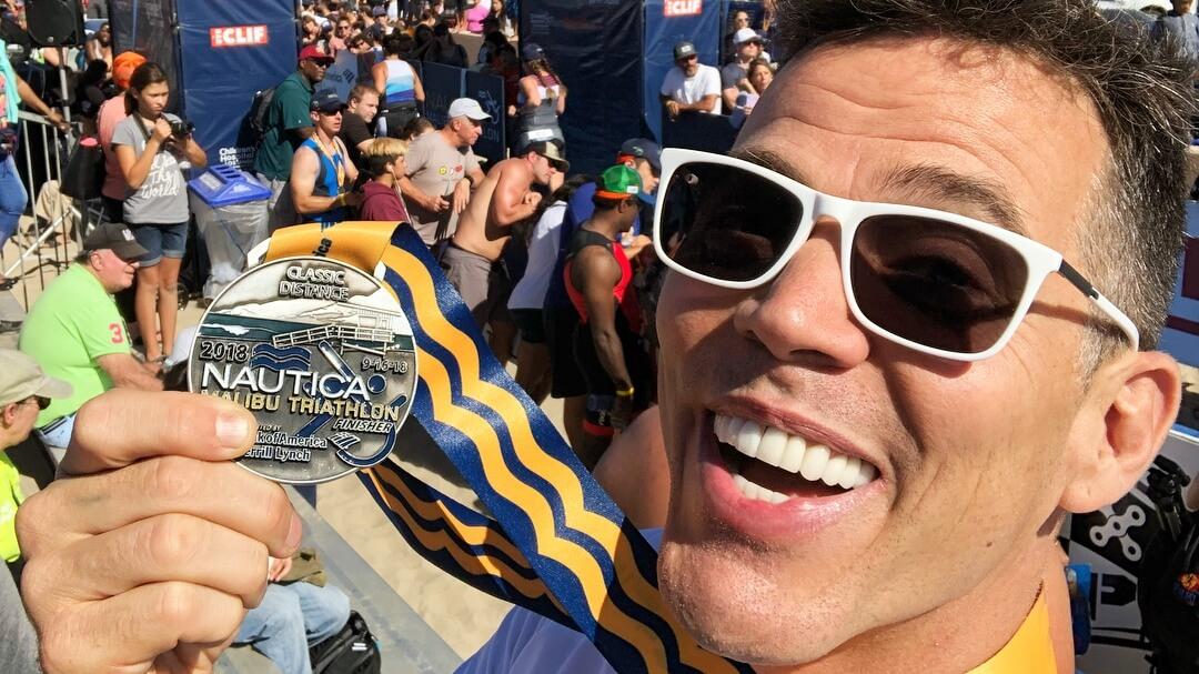 Plant-Powered 'Jackass' Star Steve-O Smashes First Triathlon