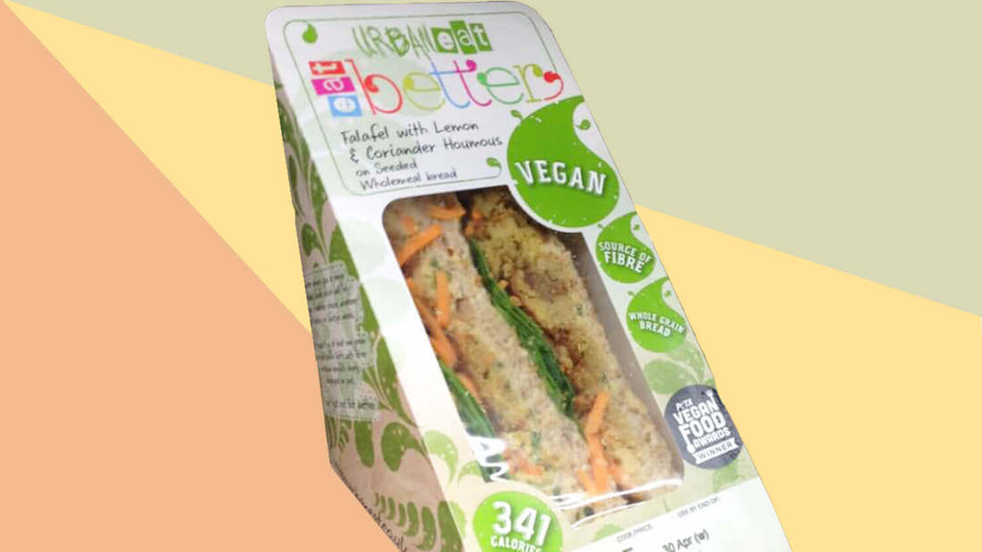 hummus and falafel sandwich uk