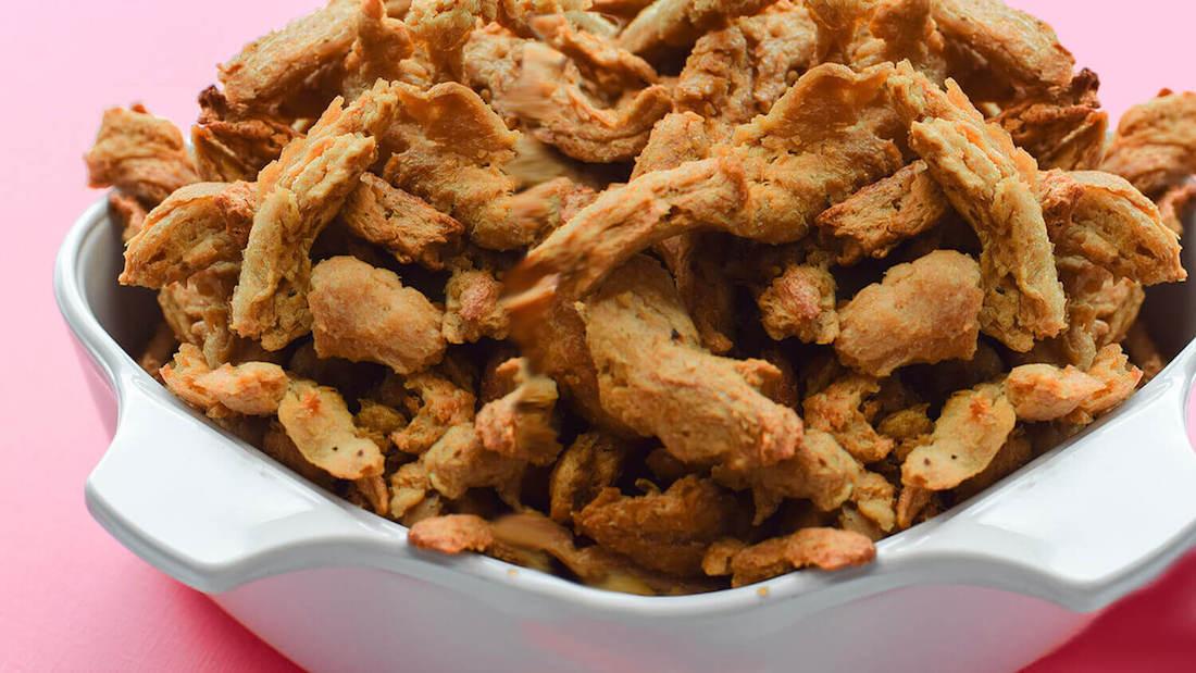 Vegan Gluten-Free Meaty Soy Based Jerky Recipe