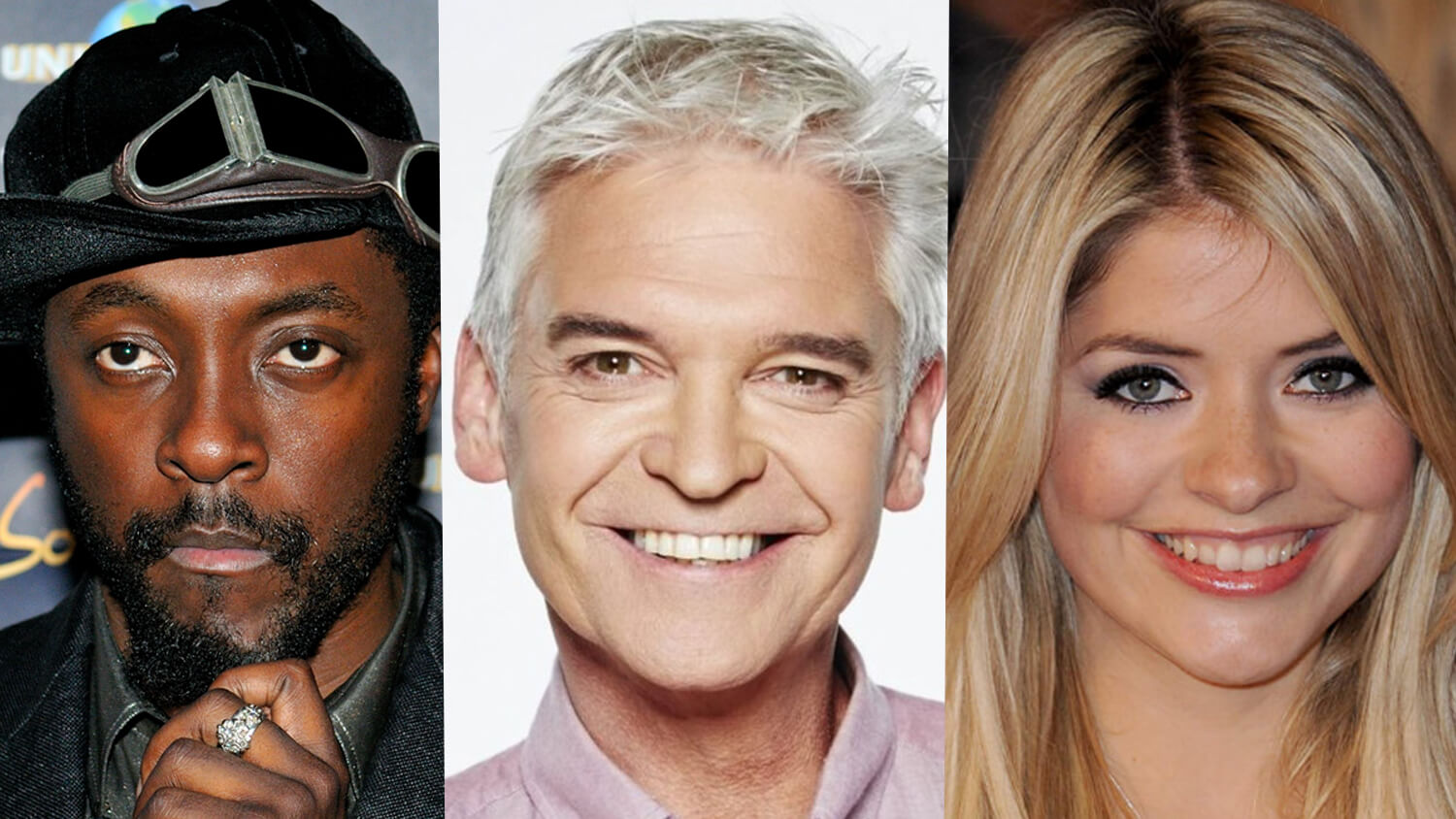Musician Will.i.am Wows Holly Willoughby and Phillip Schofield with Vegan 'Black-Eyed Pea' Tacos on ITV's 'This Morning'