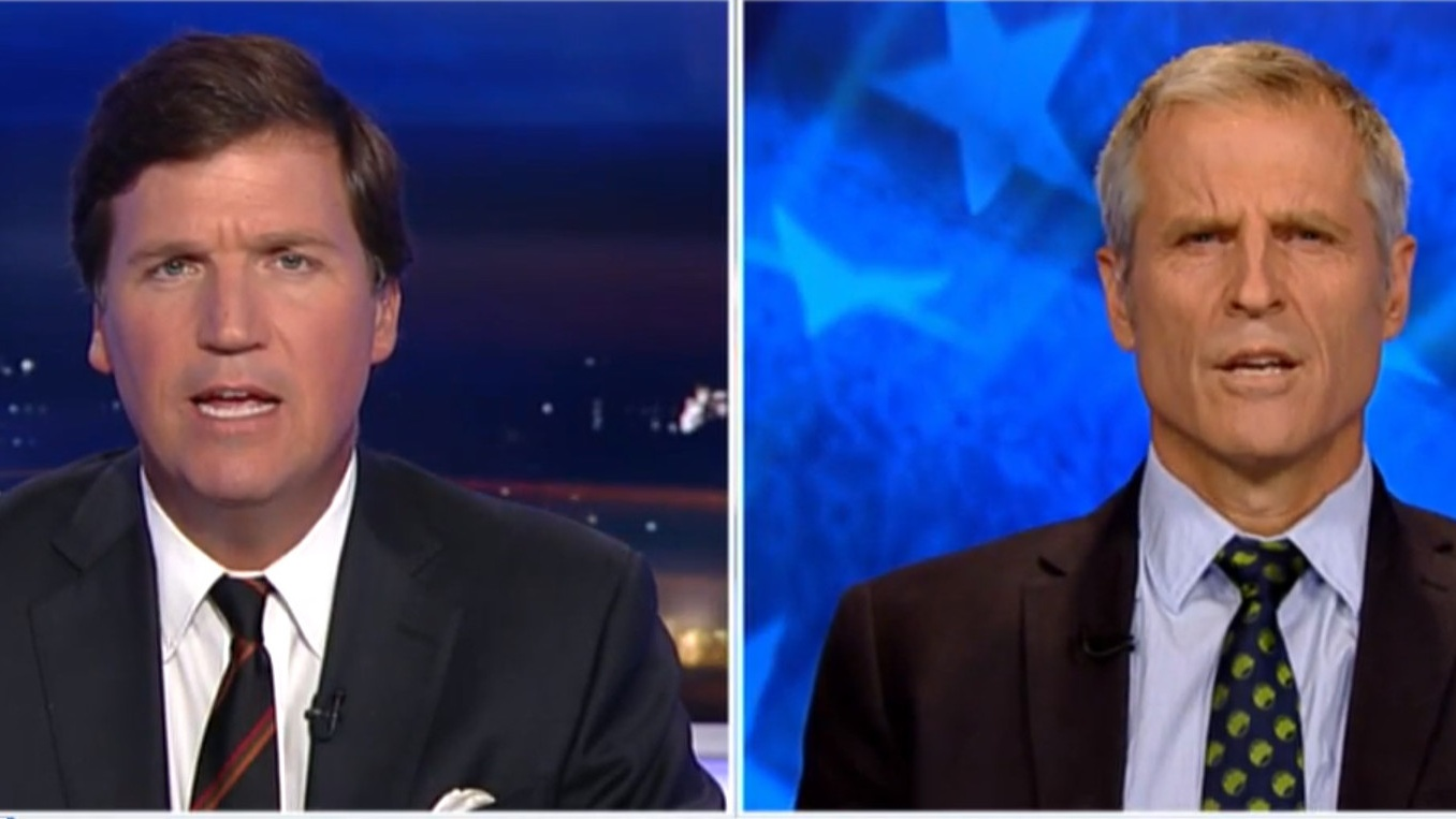 Farm Sanctuary's Gene Baur Just Schooled Fox News Host Tucker Carlson on Veganism