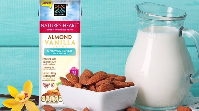 Nestlé's Nature Heart Vegan Almond Milk to Launch in Mexico and Ecuador
