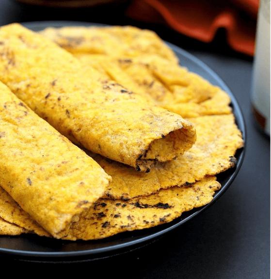 Vegan Sweet Potato Flatbread