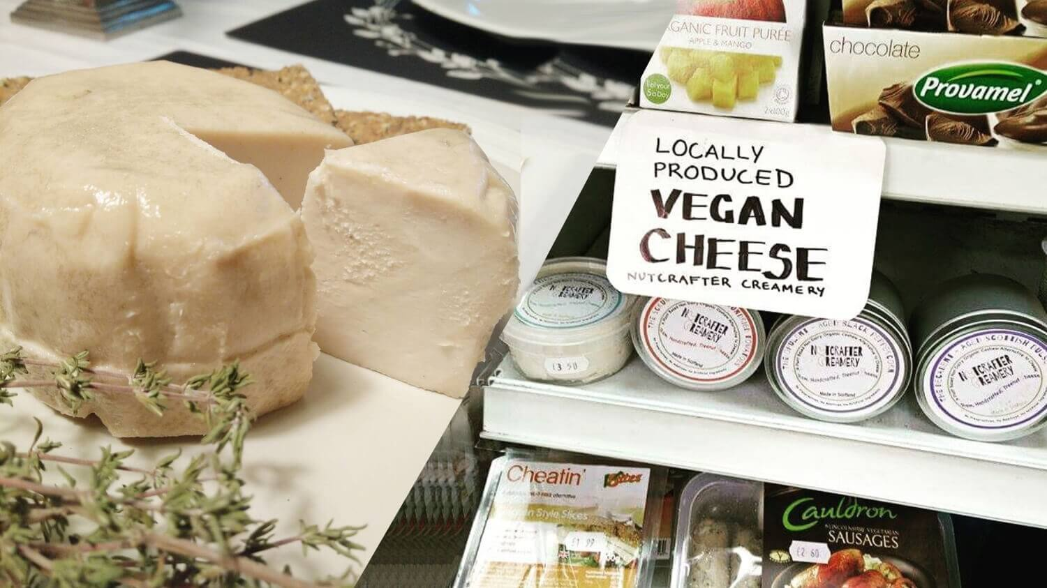 Scotland's Nutcrafter Creamery Says Its Vegan Cheese Can Convince Vegetarians to Give Up Dairy
