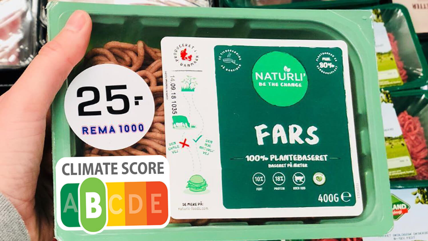 Denmark's Agriculture and Food Council Considers Labels Ranking Food's Impact on the Climate