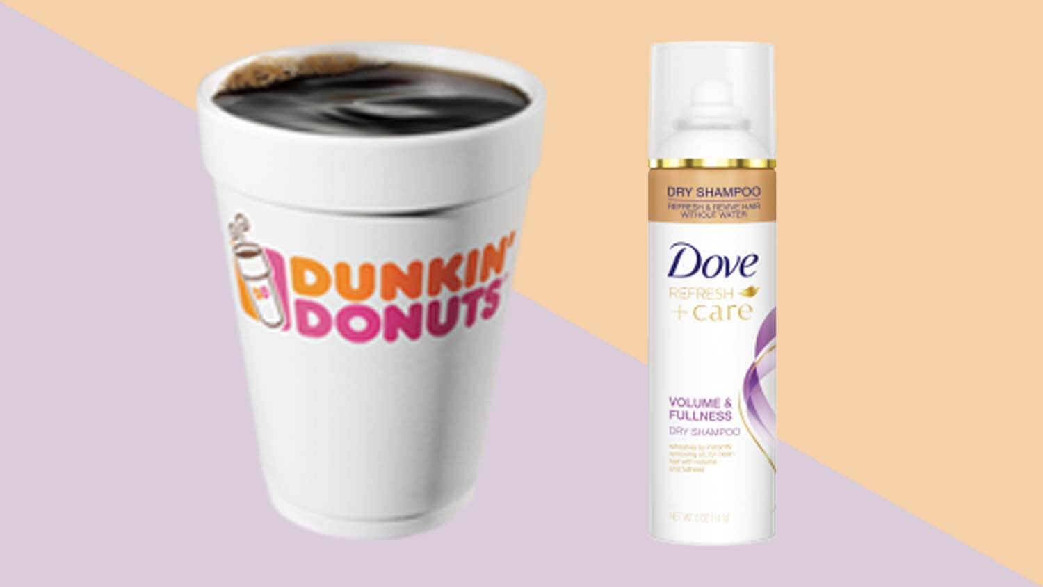 Beauty Brand Dove and Dunkin' Donuts Are Giving Away Free Cruelty-Free Vegan Dry Shampoo and Coffee