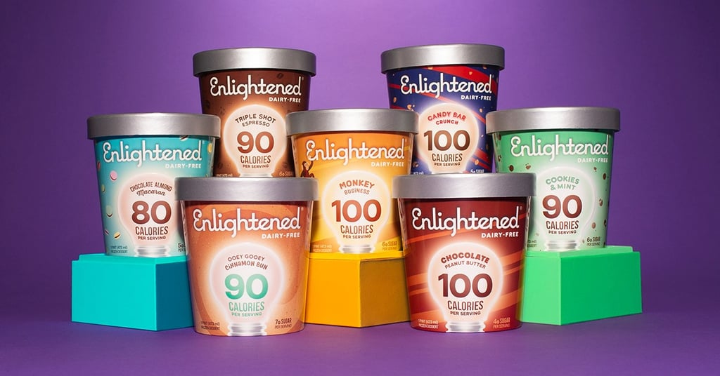 Enlightened Launches Range of 7 Vegan Ice Cream Flavors Made With Dairy-Free Almond Milk