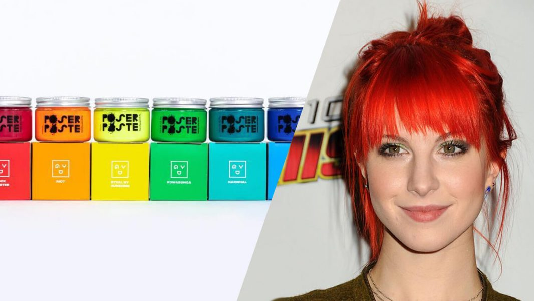 hayley williams vegan hair dye