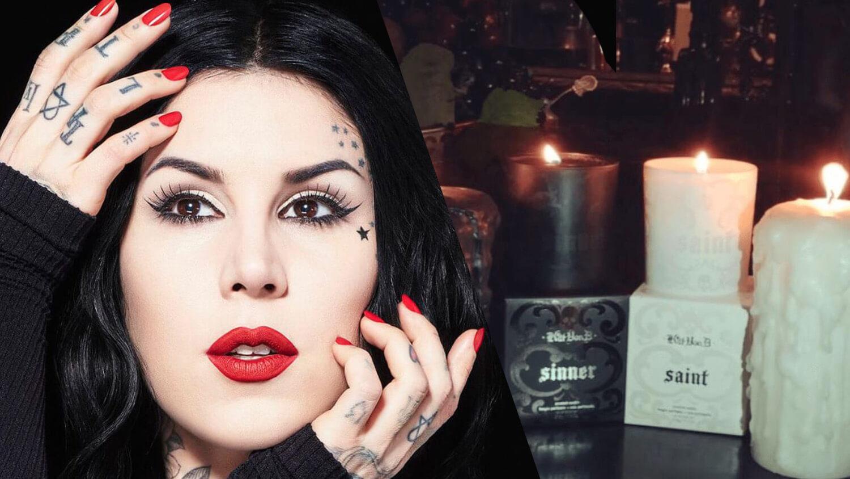 Kat Von D's Saint+ Sinner Vegan Fragrances Now Available In Candles