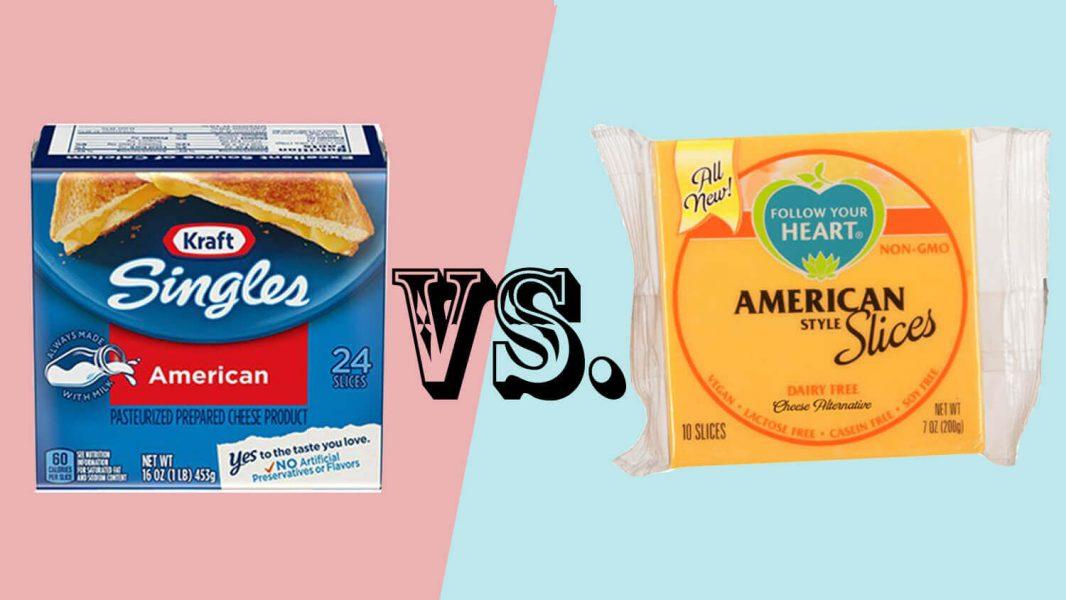 vegan american cheese
