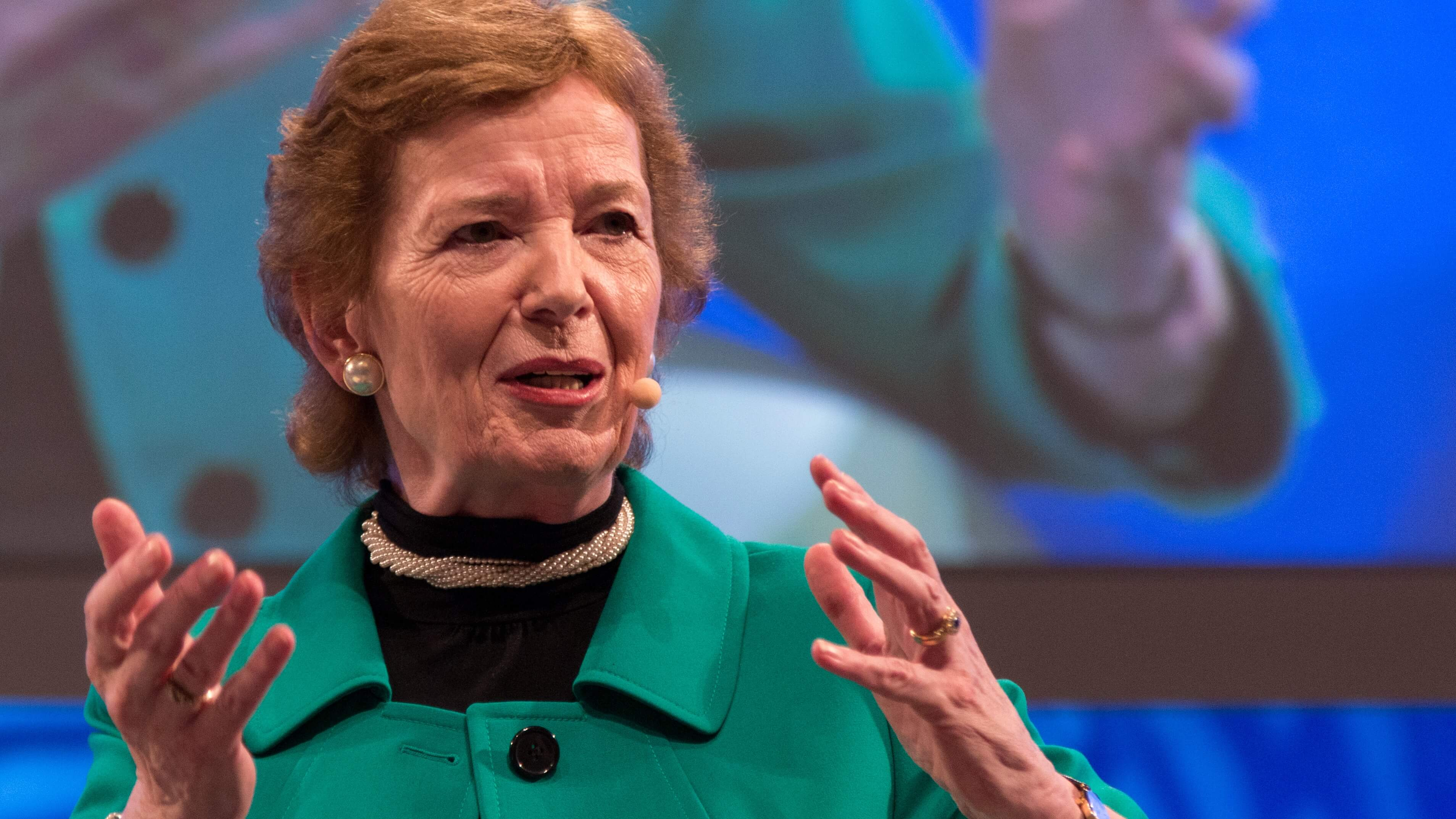Ireland's Former President Mary Robinson Urges Nation to Fight Climate Change By Reducing Meat Consumption
