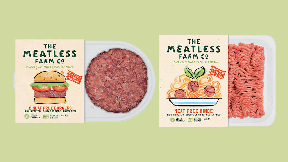 New Range of Vegan Mince Meat and Burgers By The Meatless Farm Arrive at Sainsbury's