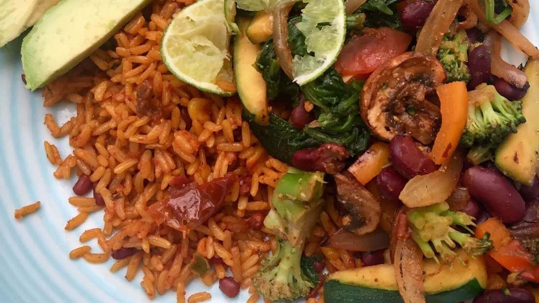 Mexico Meets China In This Spicy Vegan Stir-Fry