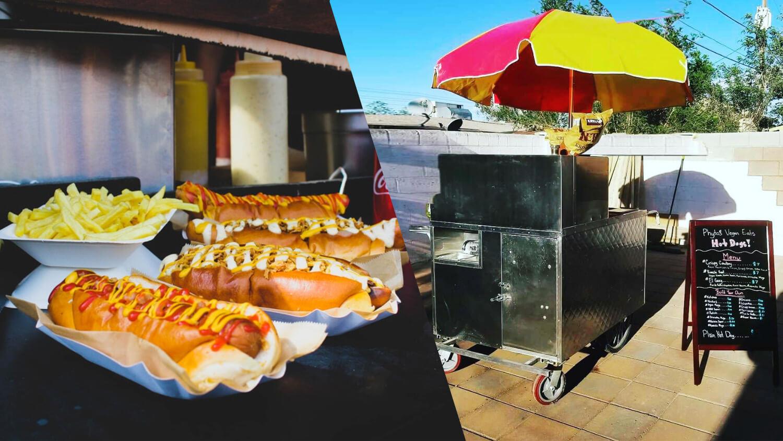 Phyto's Vegan Eats Is the First Vegan Hot Dog Cart in Las Vegas