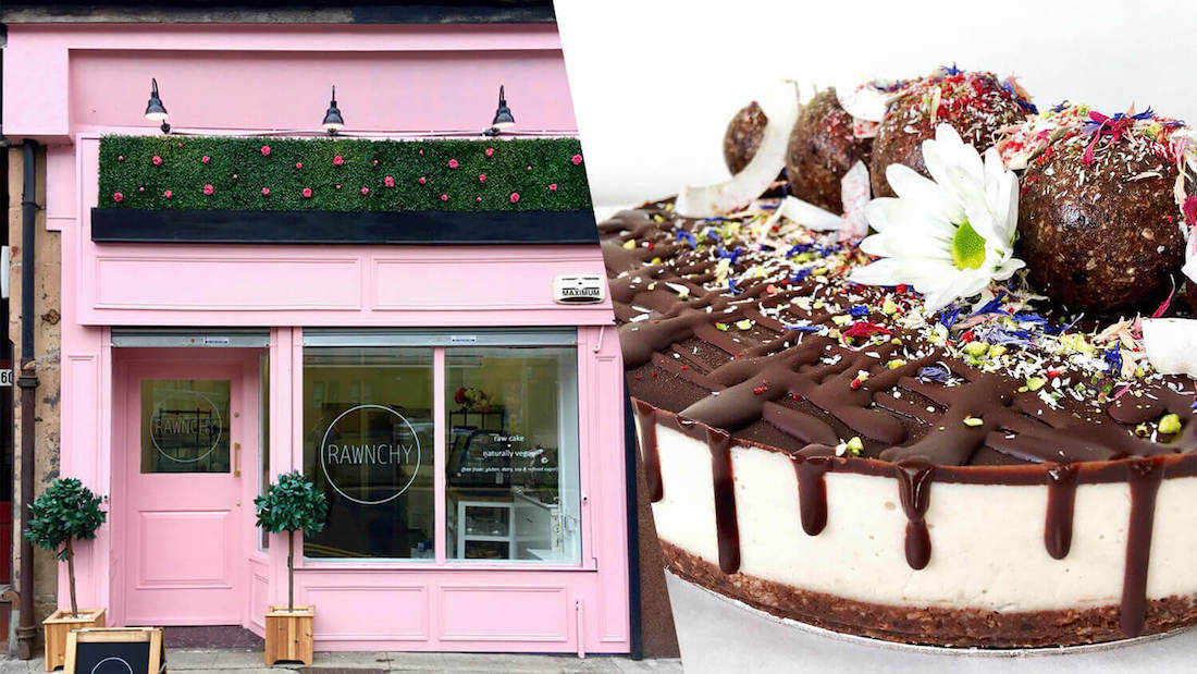 A 'Rawnchy' Vegan Dessert Shop Is Now Open in Glasgow Rawnchy