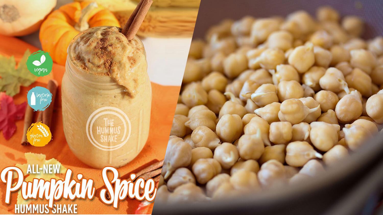 Hummus & Pita Co. Debuts Vegan Pumpkin-Spice Hummus Shake