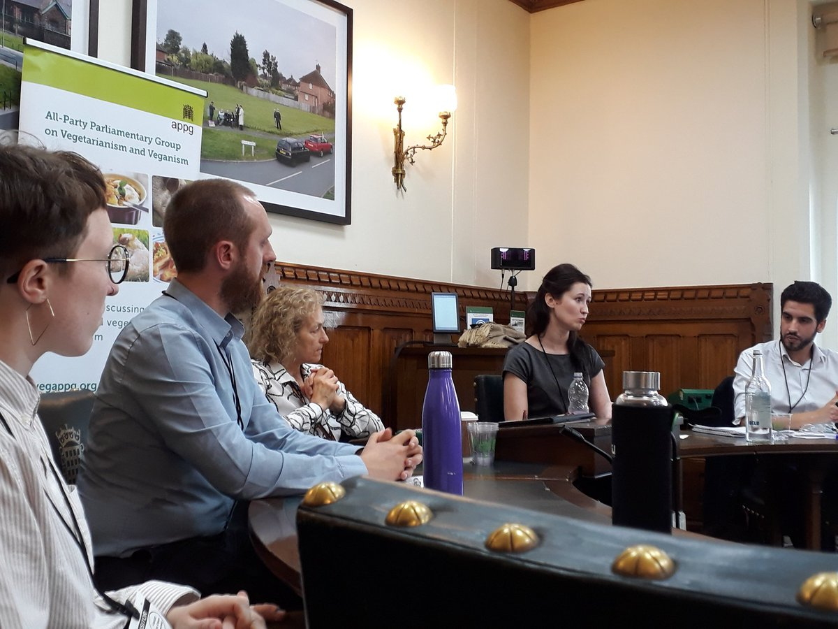 Veg APPG meets in Houses of Parliament to discuss vegan options on public sector menus