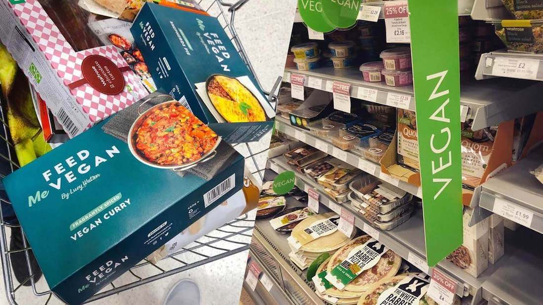 Sales of Vegan and Vegetarian Food Up 85% at UK Supermarket Waitrose & Partners