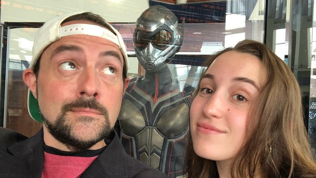 Filmmaker Kevin Smith Says That Having a Vegan Kid Saved His Life