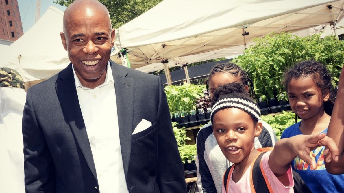 Brooklyn Borough President Eric Adams Urges Constituents to Go Vegan With 10-Day Challenge