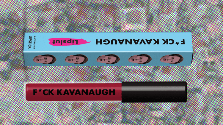 100% of Profits From Lipslut's Vegan F*ck Kavanaugh Lipstick Go To Anti-Sexual Assault Organizations