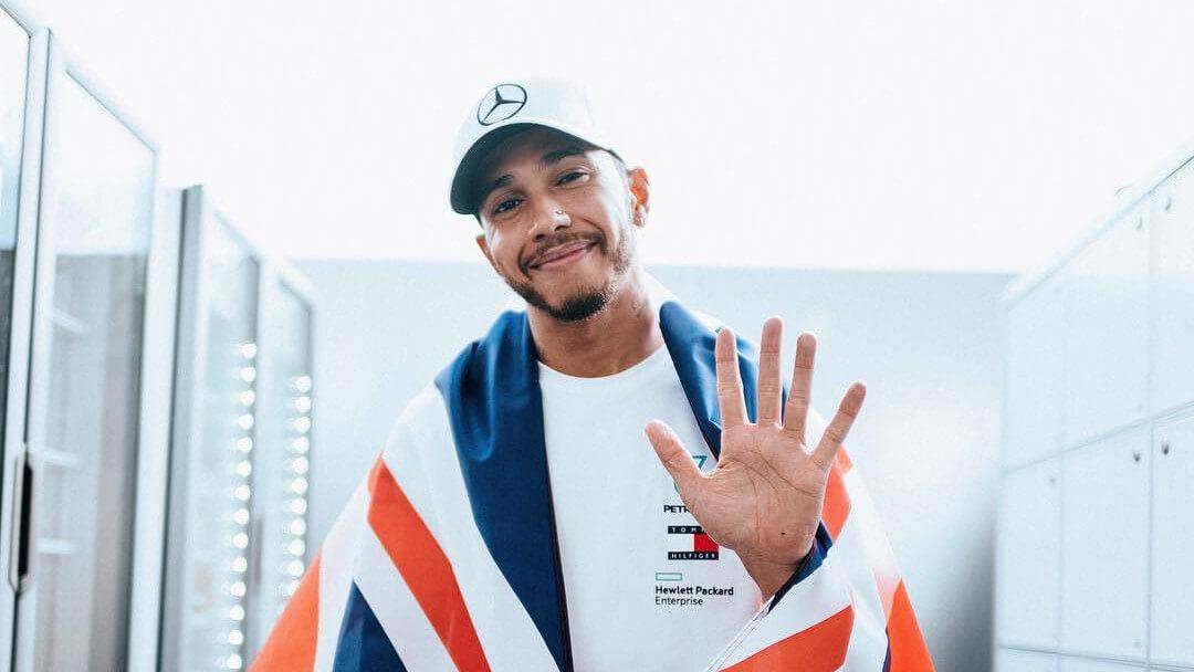 Vegan Formula One Driver Lewis Hamilton Wins His 5th World Champion Title