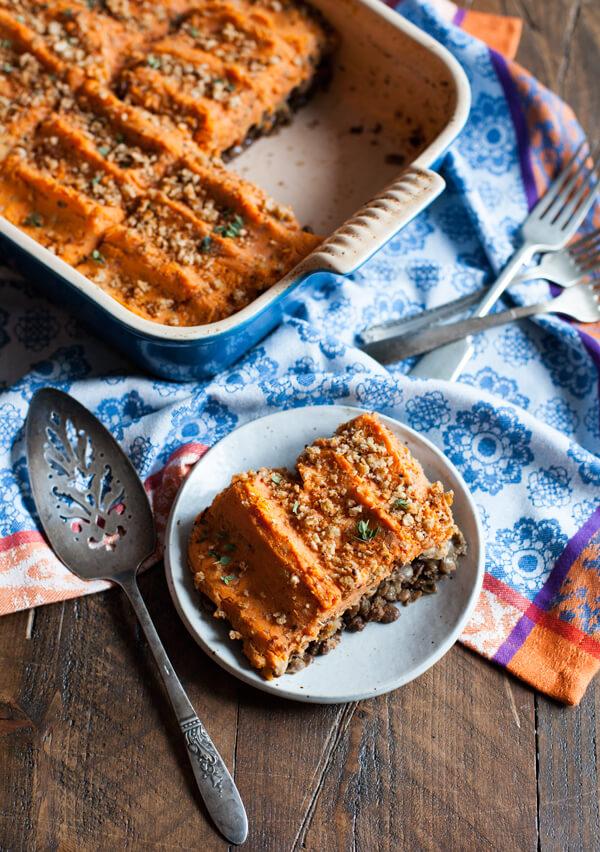 livekindly vegan sweet potato shepherds pie