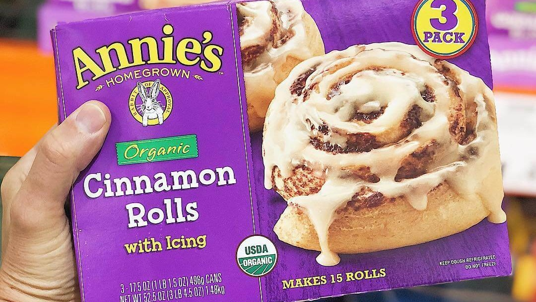 Annie's Organic Vegan Cinnamon Roll Dough With Dairy-Free Icing Arrive at Costco