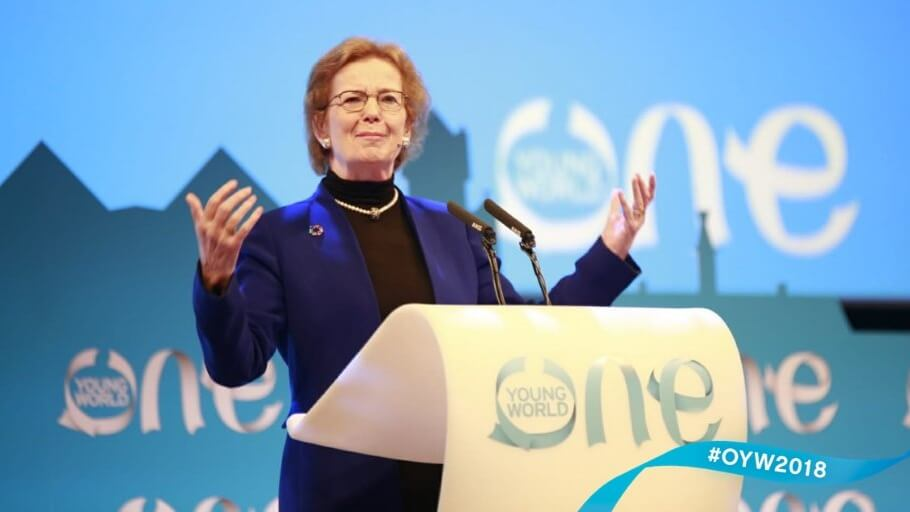 Ireland's Former President Mary Robinson Stands By Controversial Call to Go Vegan to Fight Global Warming