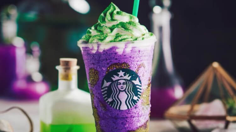 Starbucks Launches Vegan-Friendly Chia Seed Witch's Brew Frappuccino for Halloween