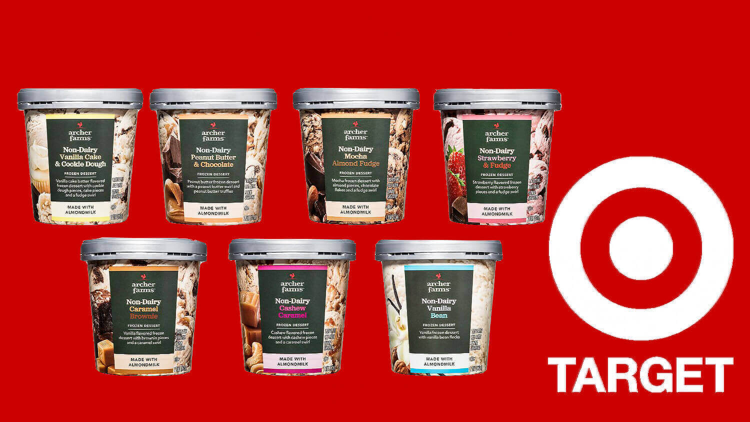 Target Expands Vegan Options With New Archer Farms Non-Dairy Almond Ice Cream Flavors