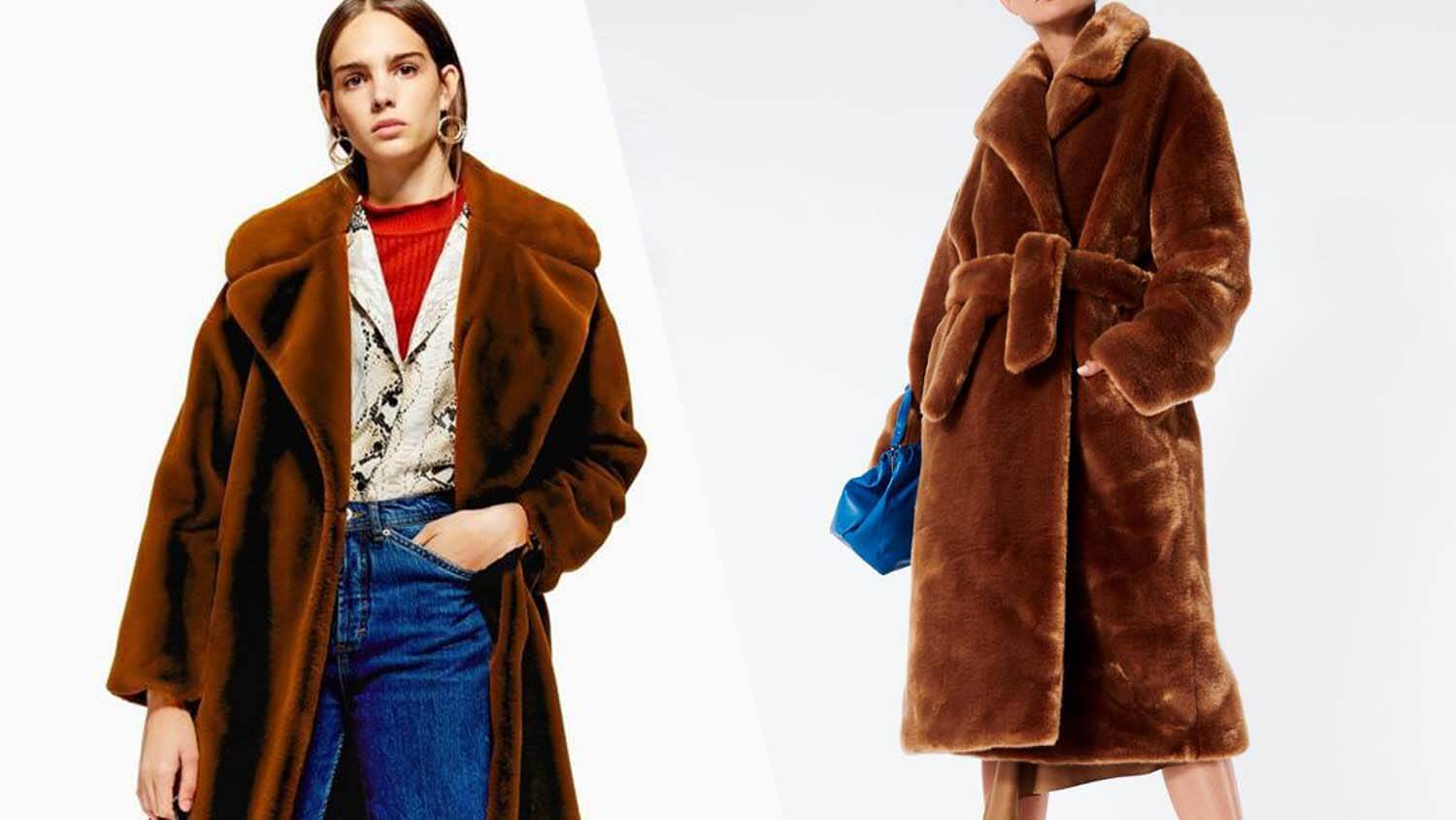 Topshop Launches Cruelty-Free Designer-Quality Faux Fur Coats