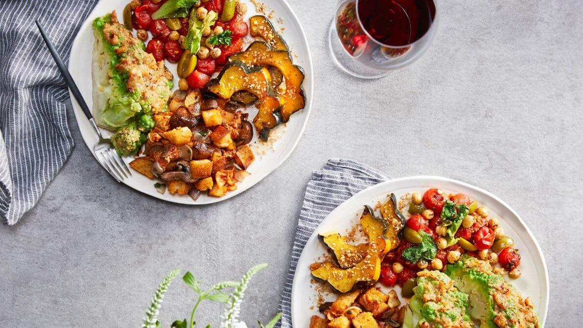 Whole Foods Market's Vegan Holiday Meal Range Features Whole Roasted Romanesco, Mushroom Stuffing, and Sweet Potato Blondies