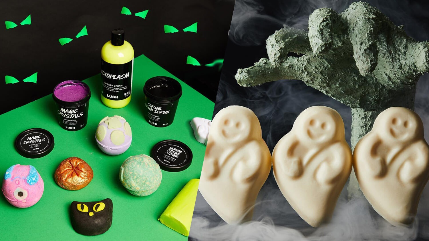 Lush Cosmetics Launches Spooky Vegan Halloween Beauty Collection