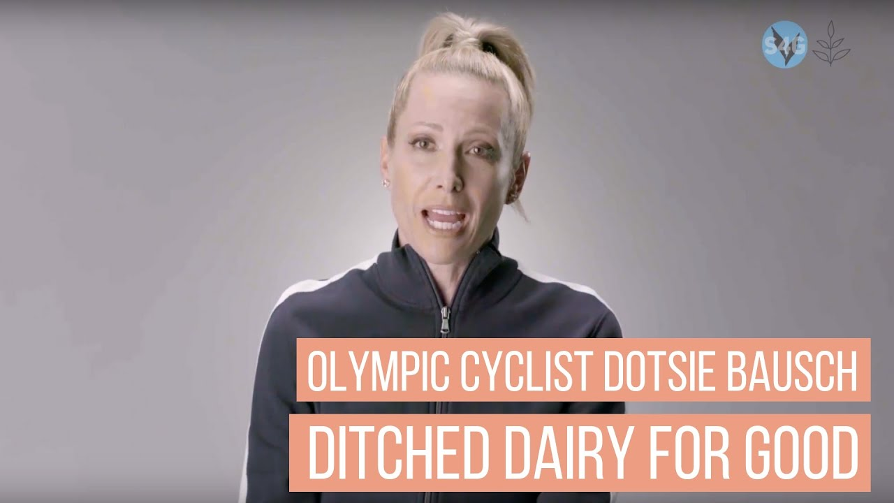 Olympic Cyclist Dotsie Bausch Ditched Dairy And Switched To Vegan