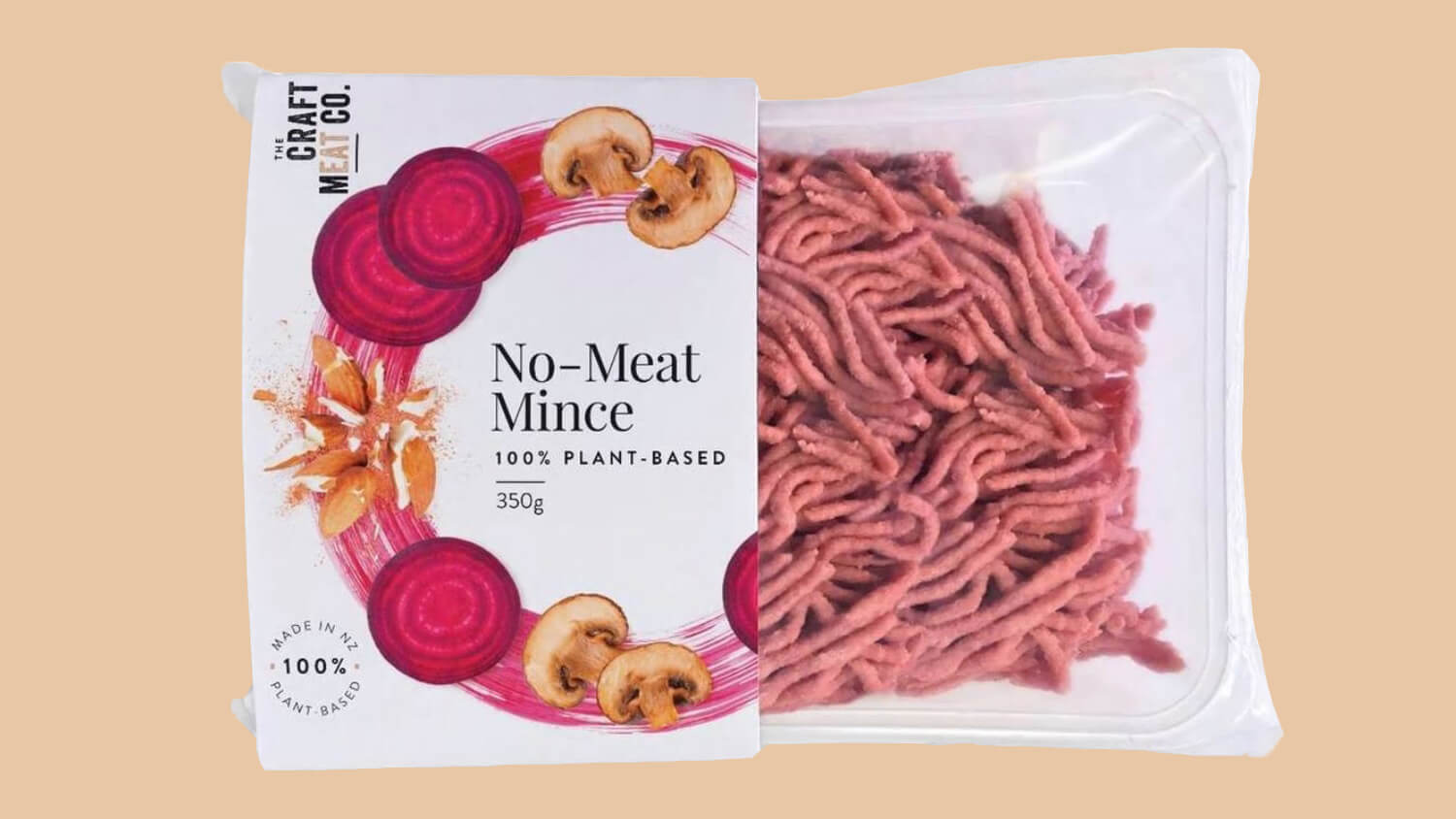New Zealand's Craft Meat Company Launches Vegan 'No-Meat Mince'