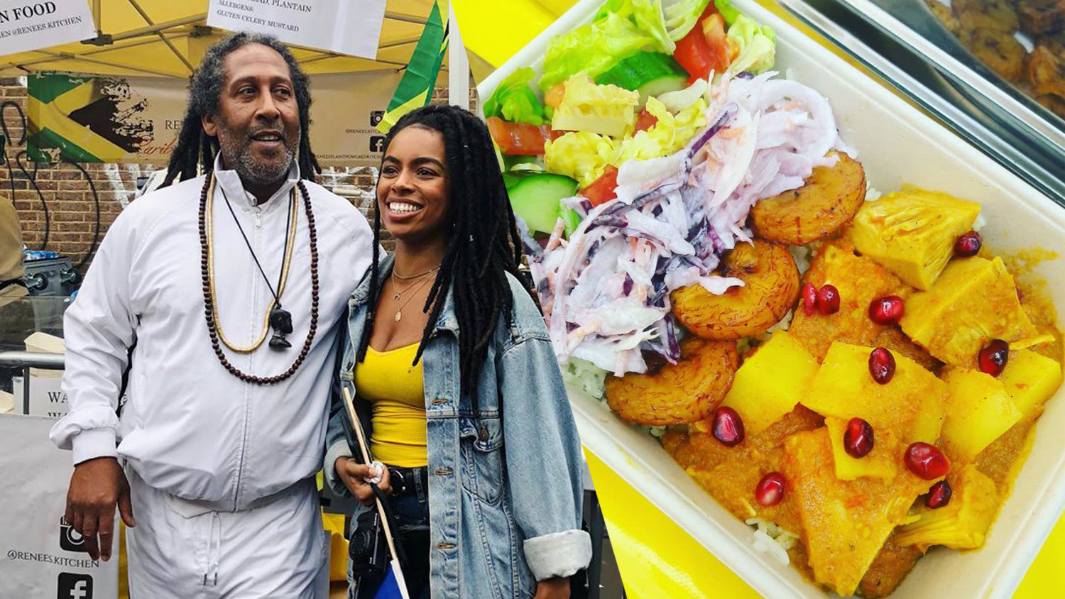 YouTuber Rachel Ama and BBC Explore Vegan Food Among Caribbean Chefs